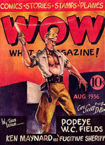Wow! What a Magazine, August 1936