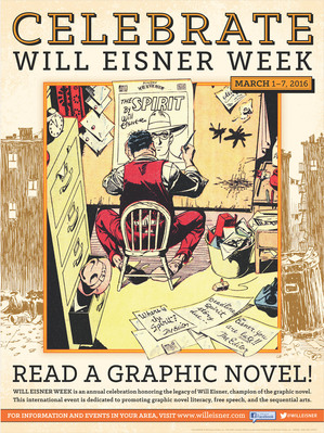 Will eisner portrait of a sequential artist info posters
